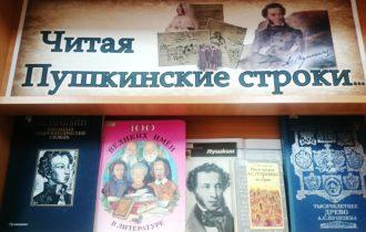 Читая пушкинские строки…